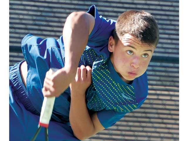 West Ranch and Valencia boys tennis advance