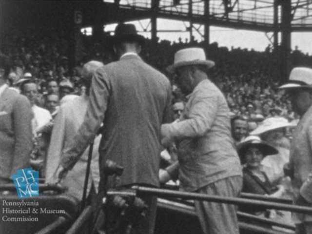 Rare footage shows 'brave struggle' of FDR walking