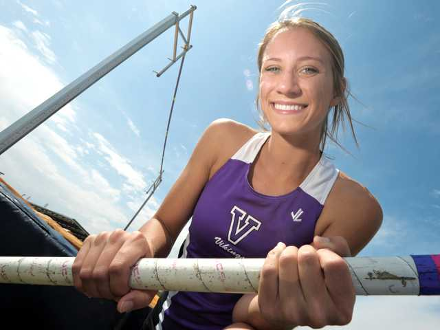 Valencia High senior pole vaulter Briana Pica is the lone Viking to make it to Saturday's CIF-Southern Section Division I championship. She quit cheerleading to focus on her vaulting and has seen that extra attention pay off.
