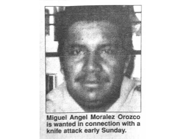 This Sept. 15, 1998 clipping from The Signal shows a photo of suspect Miguel Angel Morales Orozco who is still wanted in a case of attempted murder of a man in Newhall on Sept. 13, 1998.