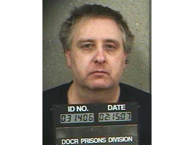 Steve Thomas is seen in this 2007 photo provided by the North Dakota Department of Corrections and Rehabilitation.