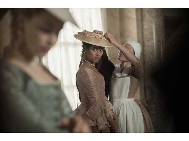 "Gugu Mbatha-Raw is Dido in Amma Asante's ""Belle."""
