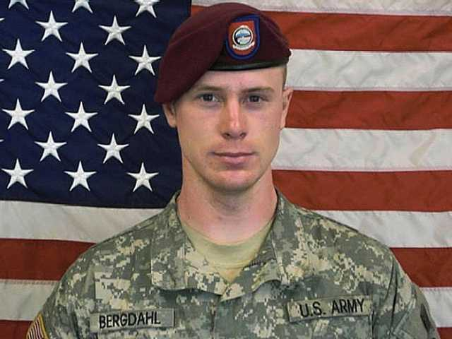 A Pentagon investigation concluded in 2010 that Bergdahl walked away from his unit five years ago. The U.S. government successfully negotiated for his release. Undate photo above.