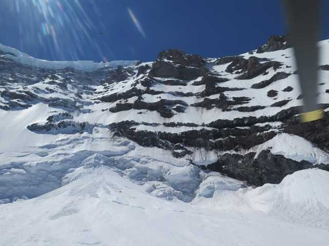 One of the six climbers presumed dead after a fall on Mount Rainier was a vice president of Intel Corp. in Southeast Asia. Above, the Liberty Ridge Area of Mount Rainier in Washington state.