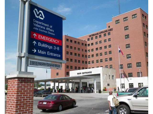 This May 29, 2014 file photo shows the St. Louis VA Medical Center.