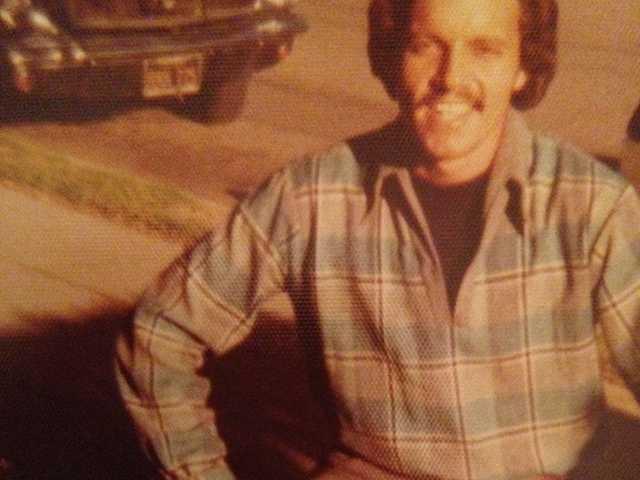 Robert Suarez in college in 1974. Courtesy Photo