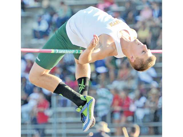 Canyon senior Brett Molster had a jump of 6 feet, 7 inches to qualify for the state meet.