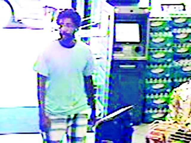Sheriffs are asking for help identifying this man from surveillance photos