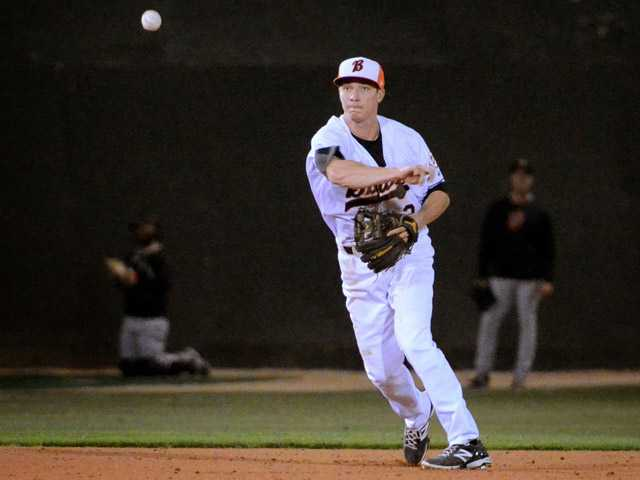 Saugus graduate Zach Vincej is playing shortstop for the High-A Bakersfield Blaze of the Cincinnati Reds organization.