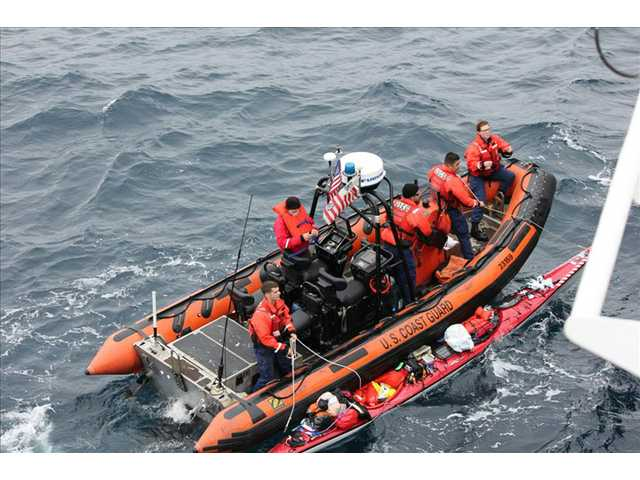 June 10, the U.S. Coast Guard rescue a kayaker about 60 miles southwest of Santa Barbara's Point Conception.