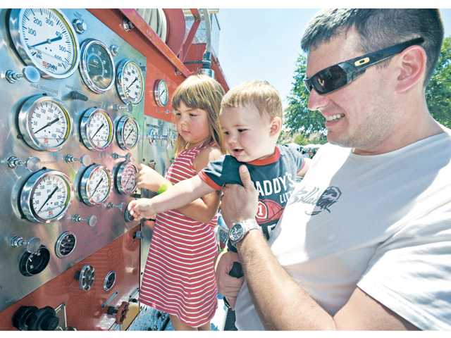 Touch-a-Truck raises funds for SCV Senior Center