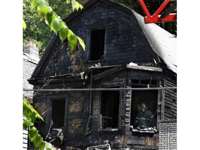 Boy on Father's Day visit, 5 others, die in fire
