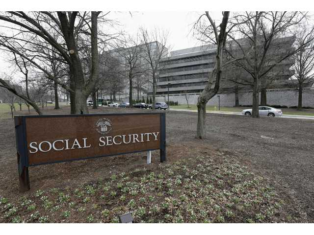 This Jan. 11, 2013, file photo shows the Social Security Administration's main campus in Woodlawn, Md