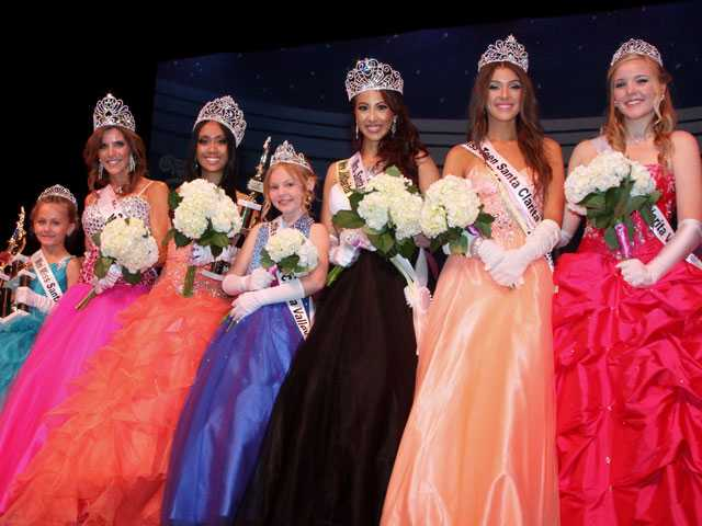 Miss Santa Clarita Valley Scholarship Pageant category winners are crowned.