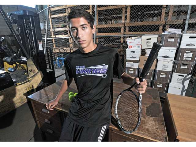 All-SCV boys tennis singles: Chad LeDuff