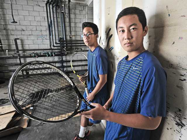 Jonathan Lee, left, and Brandon Oh of West Ranch were strong for the Wildcats from start to finish this season.