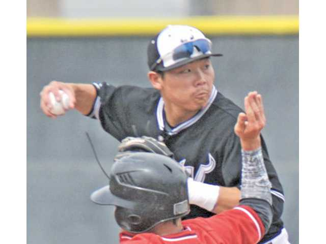 Valencia shortstop Keston Hiura led the state with 14 home runs and had a .500 batting average.