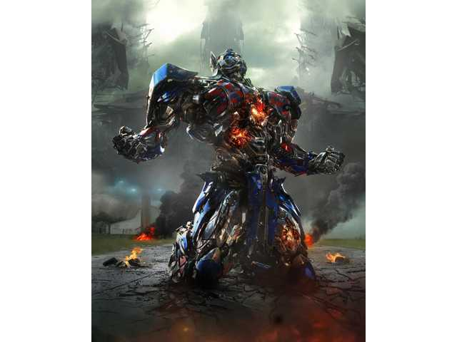 "Optimus Prime in ""Transformers: Age of Extinction"""