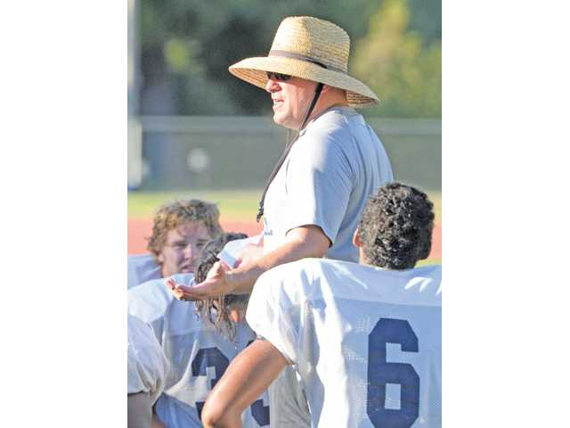 College the Canyons head football coach Ted Iacenda was named National Division, Northern Conference Coach of the Year this past fall.