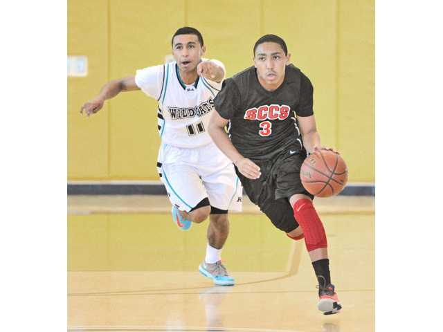 Santa Clarita Christian basketball player Kamron Carroll is the school's Male Athlete of the Year.