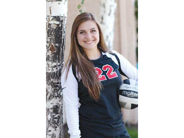 Santa Clarita Christian softball/volleyball/soccer player Kimberly Curry is the school's Female Athlete of the Year.