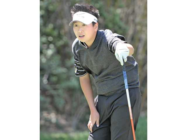 Jonathan Kang became Golden Valley's first Foothill Player of the Year in boys golf this spring.