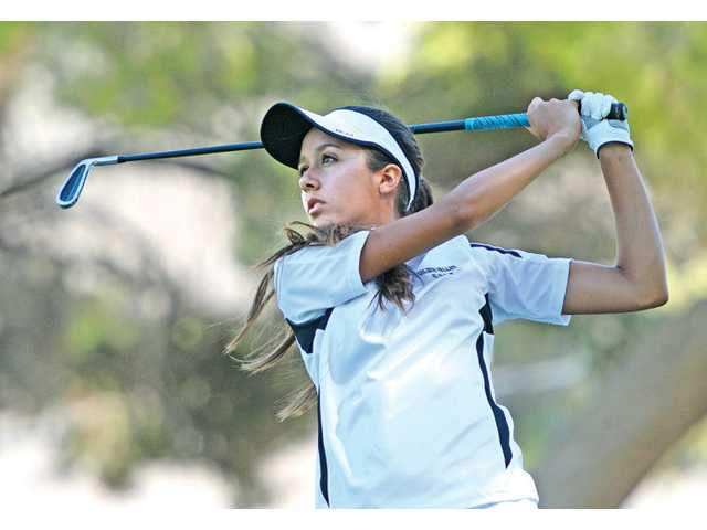 Golden Valley's Elisa Pierre helped her team win its first Foothill League golf title in school history. She won league MVP honors.