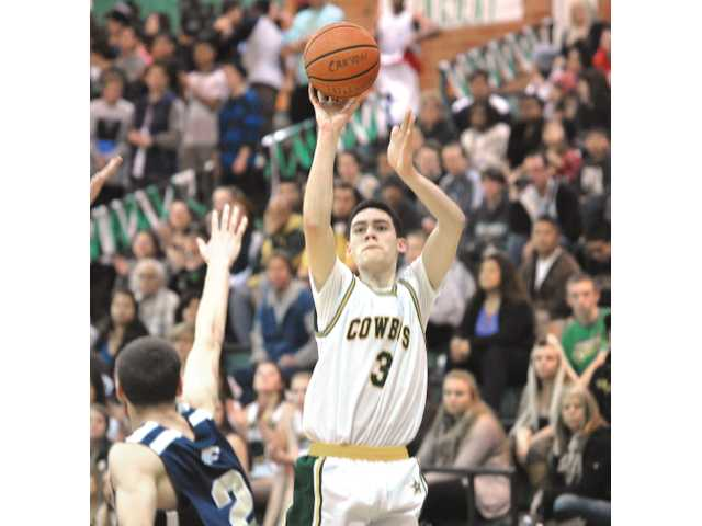 Ben Taufahema helped lead the boys basketball team to the semifinals of the CIF-SS Division IIAA playoffs.