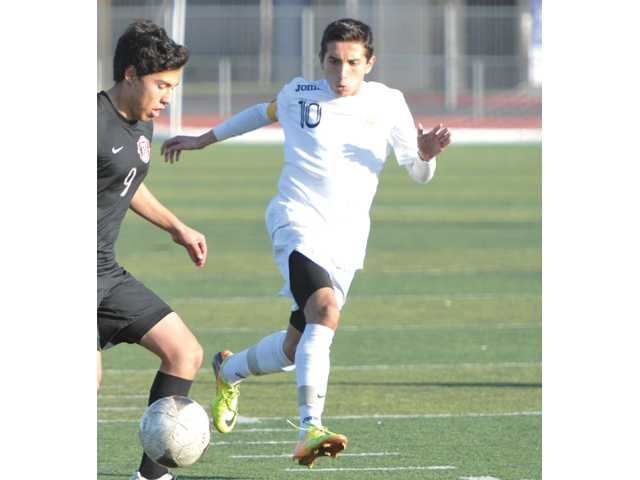 Francisco Perez led the Foothill League with 16 goals this season.