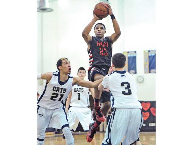 Lewis Stallworth was vital to the boys basketball program, helping the Indians win the Foothill League championship.