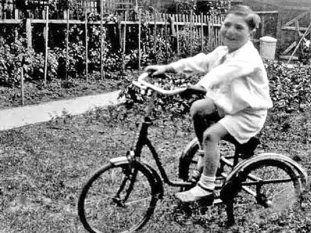 Newhall resident Carroll Greenfield at 5 years old.