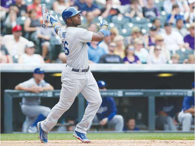 Los Angeles Dodgers outfielder Yasiel Puig was voted as a National League starer for the 2014 MLB All-Star Game.