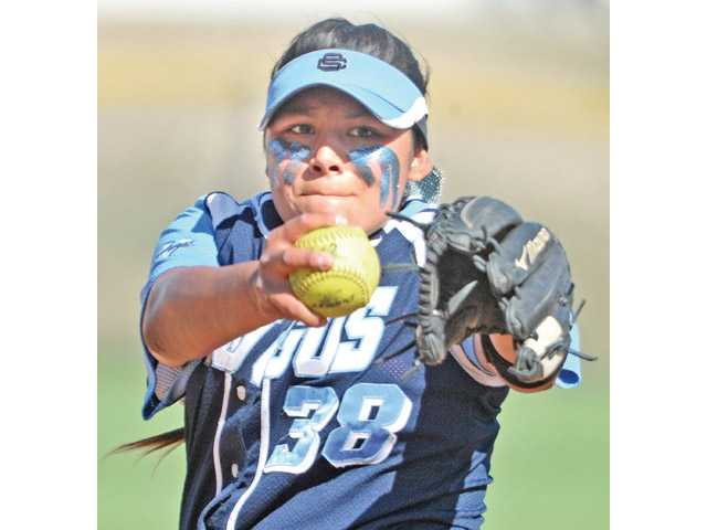 Saugus pitcher Mariah Lopez was named the All-SCV co-Player of the Year in softball.