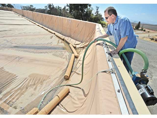 CLWA's mammoth water tank covers need replacing