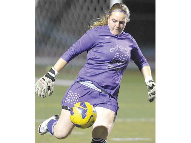 Valencia goalkeeper Nicole Joseph was an All-SCV first-team selection.