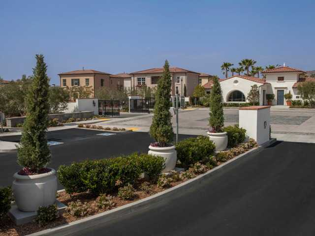 A view of the gated Villa Metro community neighborhood villages. Robert Hidey Architects/courtesy photo