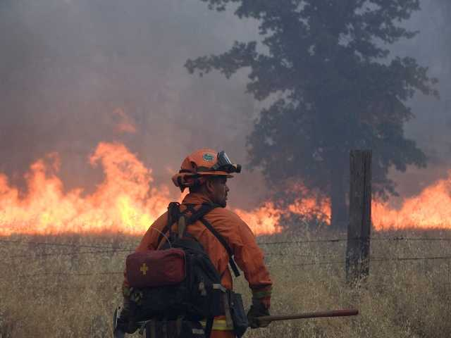 Man accused of starting N. California wildfire