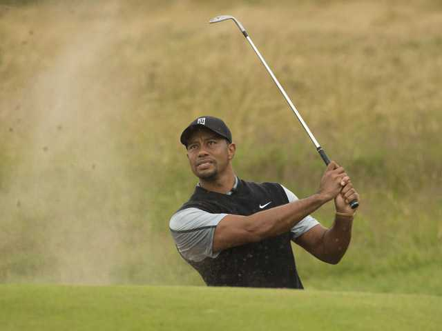 Woods to play with Cabrera, Stenson in British Open