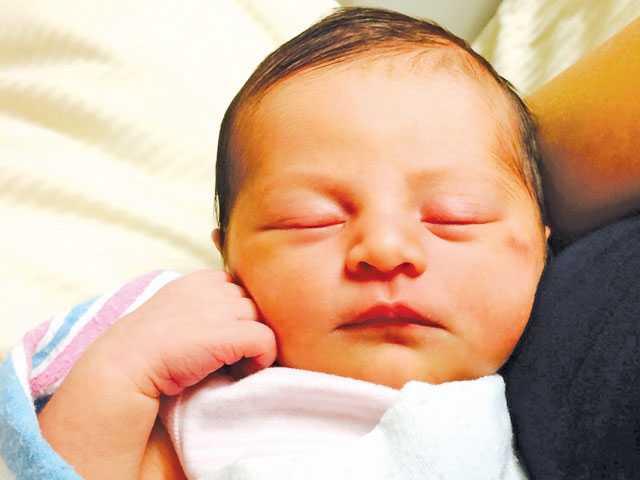 Baby Charlotte Elizabeth Wampler.