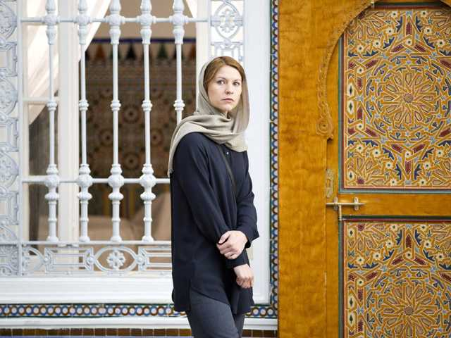 "This photo released by Showtime shows Claire Danes as Carrie Mathison in ""Homeland,"" season 3."