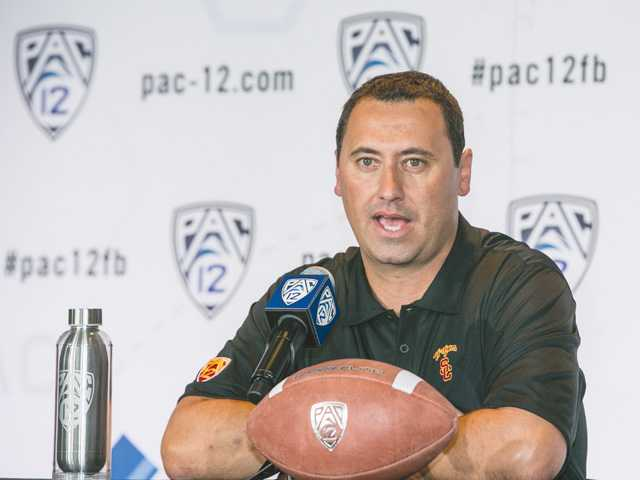 Southern California head coach Steve Sarkisian said the Trojans will be playing a more up-tempo offense compared to the ones in years past.