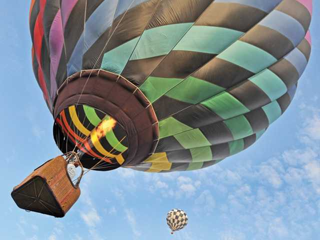 Annual balloon festival lifts off again