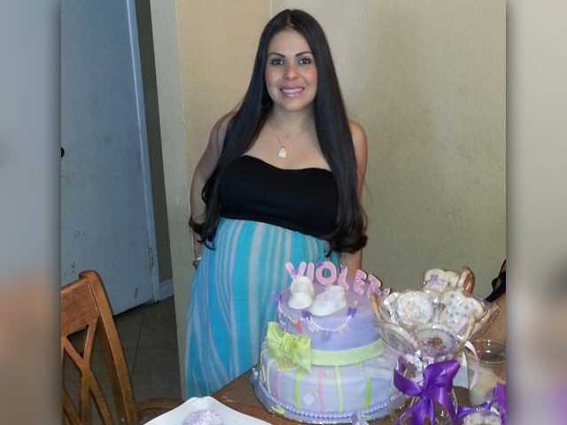 This photo of Felicia Martinez, provided by her family, shows the Palmdale woman with a cake for her daughter, Violeta, who was the only survivor in the crash that killed her father and Martinez last week.