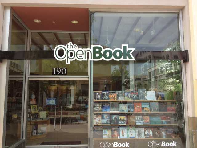 The bookstore on Town Center Drive has changed its name to The Open Book and is celebrating Harry Potter by giving books away for free to children aged 12 and younger.