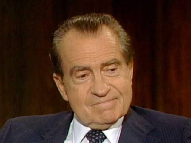 Nixon tapes released on resignation's anniversary