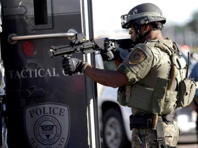 US rethinks giving excess military gear to police