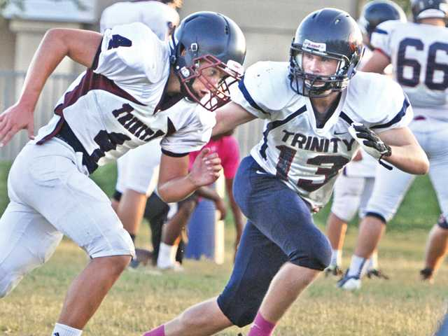 Trinity football's Caddow ready for a big role