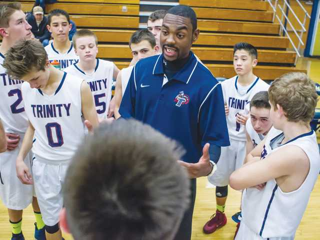 Jeremy Haggerty was hired as the Trinity Classical Academy's new varsity boys basketball head coach. He'll succeed John Brooks in the process. Wally Caddow/Courtesy photo