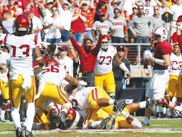 No. 14 USC holds off No. 13 Stanford