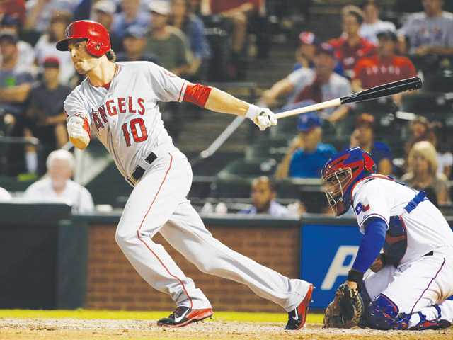 Streaking Angels surge past Rangers